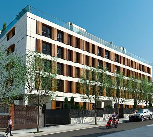 Promociones obra nueva en madrid pisos y chalets for Pisos obra nueva madrid