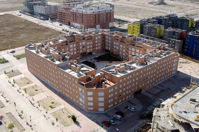 Pisos obra nueva cooperativa 163 viviendas pau vallecas avenida gavia 640x426 - Pisos ensanche de vallecas obra nueva ...