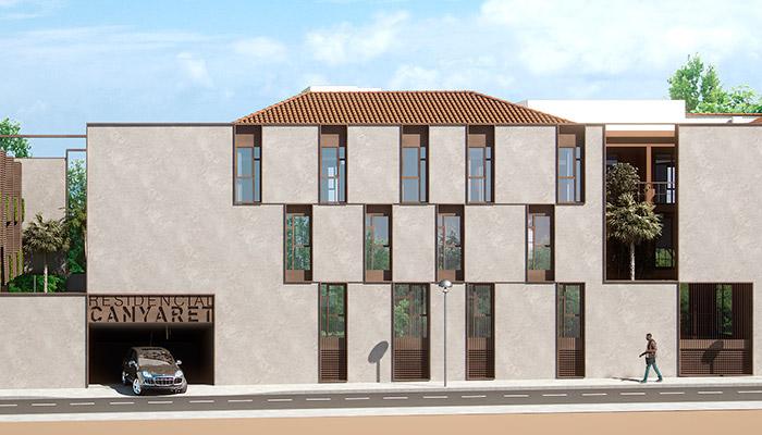 Vista exterior edificio pisos obra nueva alicante playa san juan 700x400 - Pisos obra nueva alicante ...